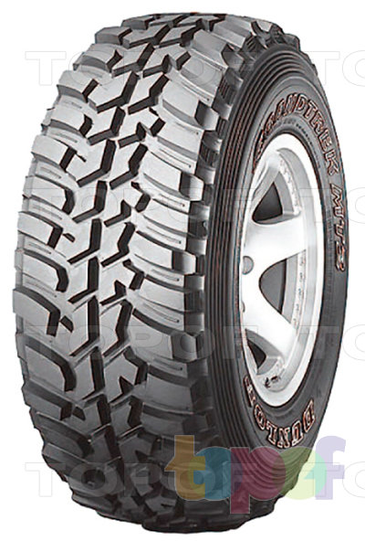 Шины Dunlop Grandtrek MT2