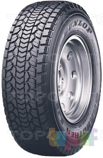 Шины Dunlop Grandtrek SJ5. Нешипуемая шина для внедорожника