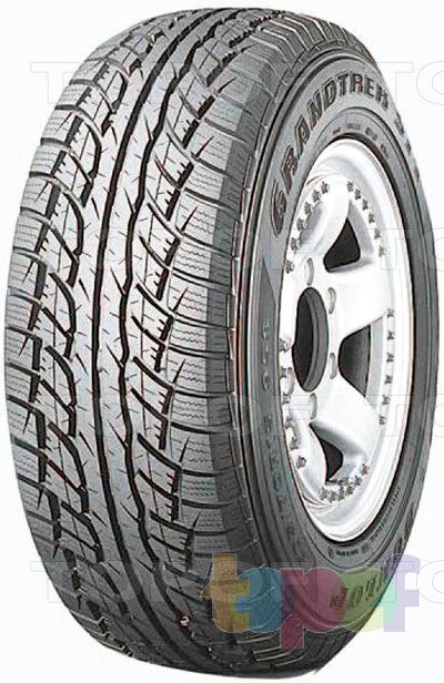 Шины Dunlop Grandtrek ST1. Универсальная шина для внедорожника