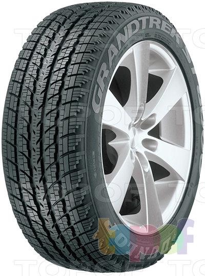 Шины Dunlop Grandtrek ST8000. Грязевые шины для внедорожников