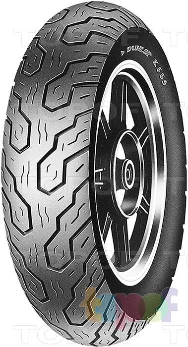 Шины Dunlop K555. Изображение модели #2