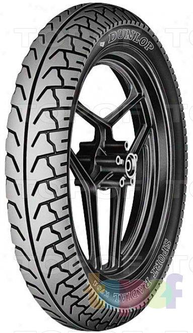 Шины Dunlop K701F. Изображение модели #1