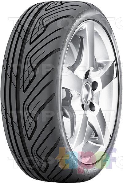 Шины Dunlop Pininfarina. Асимметричный рисунок протектора