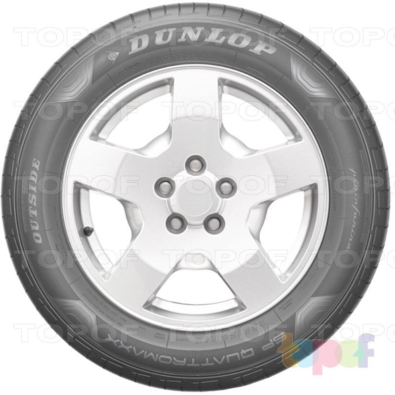 Шины Dunlop SP QuattroMaxx SUV. Боковая стенка