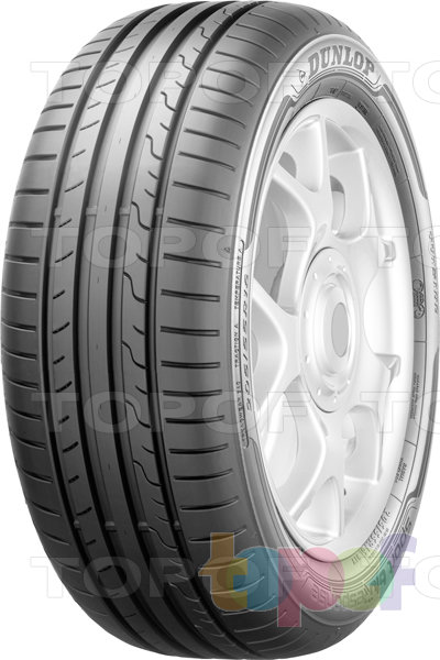 Шины Dunlop SP Sport BluResponse 195/65R15 91V