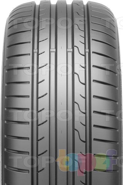 Шины Dunlop SP Sport BluResponse. Широкие продольные канавки