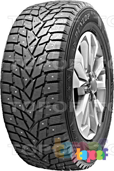Шины Dunlop SP Winter Ice 02. Изображение модели #1