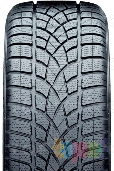 Шины Dunlop SP Winter Sport 3D. Направленный рисунок протектора