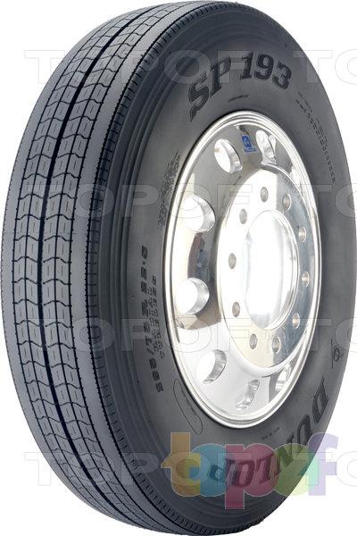 Шины Dunlop SP193. Дорожная шина для грузового автомобиля
