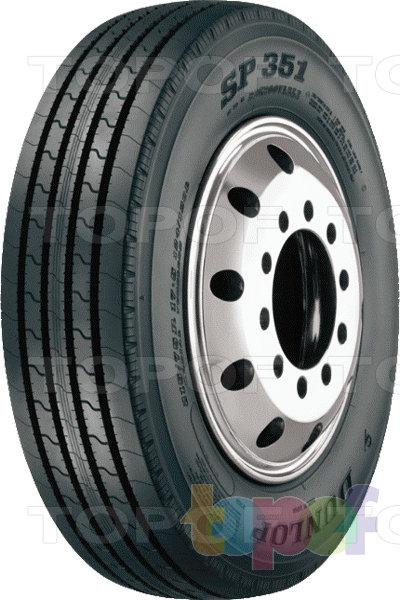 Шины Dunlop SP351. Дорожная шина для грузового автомобиля