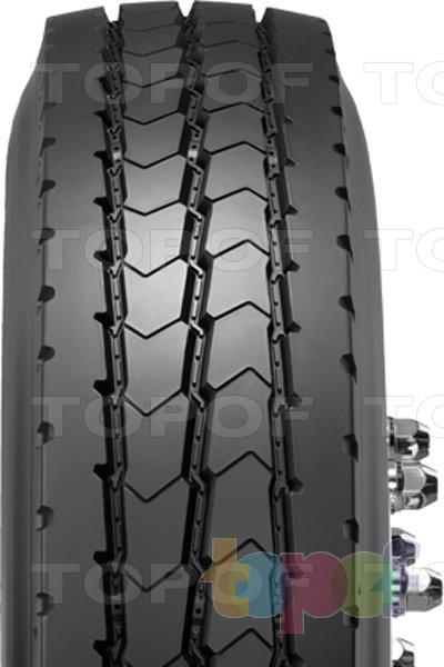 Шины Dunlop SP382. Продольные канавки