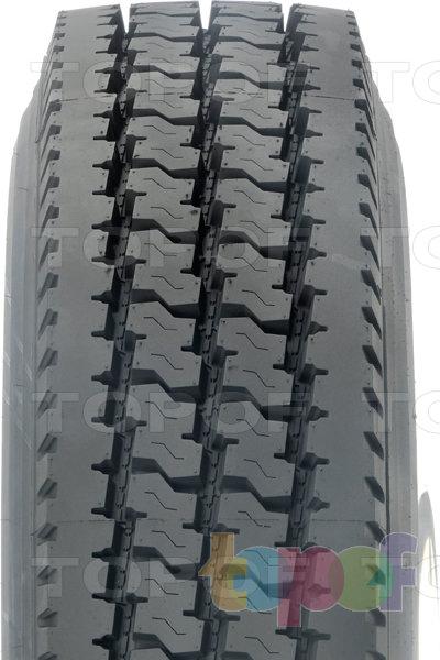 Шины Dunlop SP464. Вид спереди
