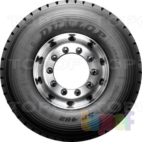 Шины Dunlop SP482. Боковая стенка