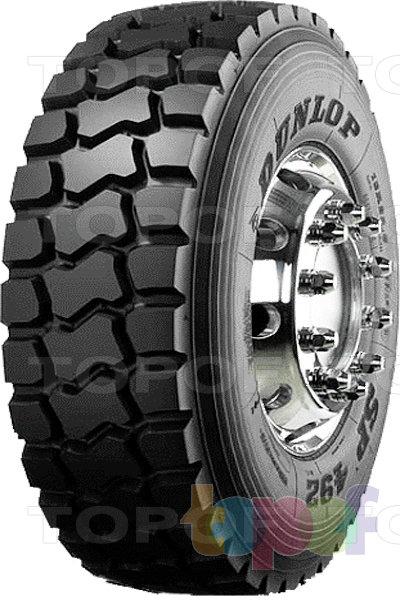 Шины Dunlop SP492. Грузовая шина повышенной проходимости