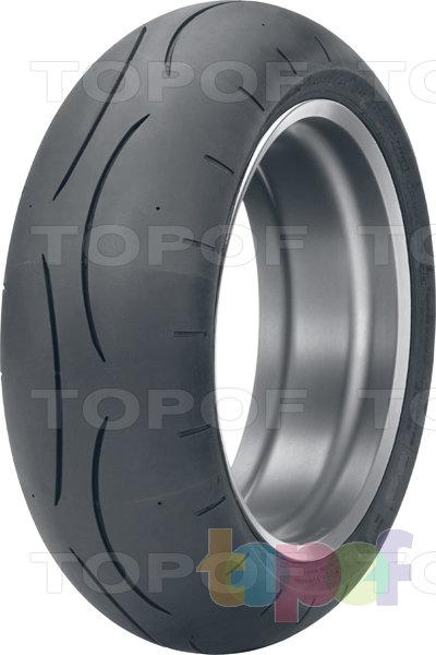 Шины Dunlop Sportmax D211 GP-A Pro. Заднее колесо
