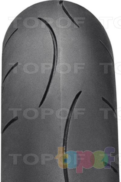 Шины Dunlop Sportmax D211 GP-A Pro. Фронтальный вид