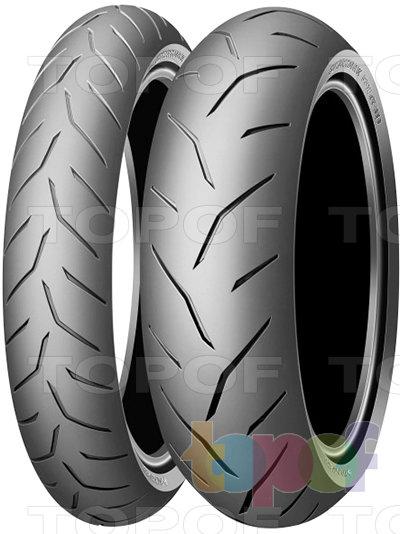 Шины Dunlop Sportmax GPR alpha 10. Изображение модели #1