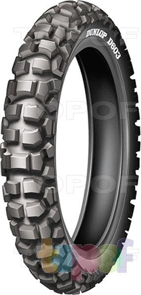 Шины Dunlop Trailmax D603. Заднее колесо