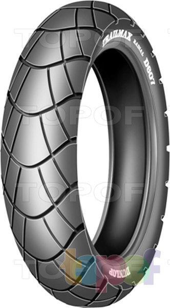 Шины Dunlop Trailmax D607. Заднее колесо