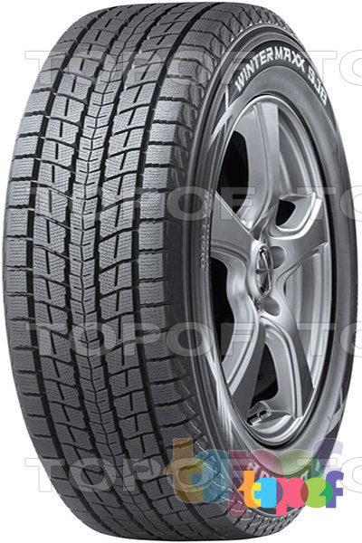 Шины Dunlop Winter Maxx SJ8. Изображение модели #1