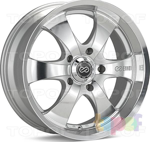 Колесные диски Enkei M6. серебряный