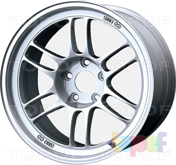 Колесные диски Enkei RPF1. серебристый