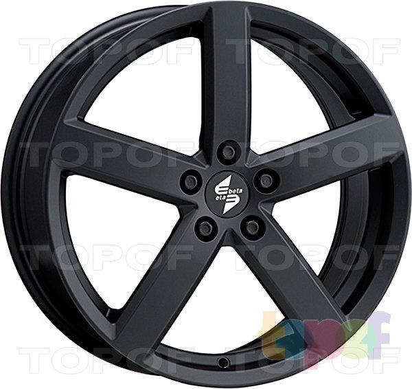 Колесные диски Eta Beta Eros. Цвет - черный матовый