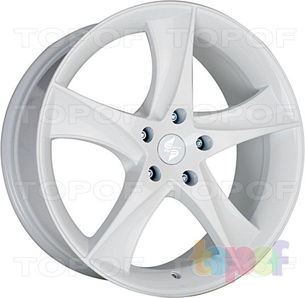 Колесные диски Eta Beta Jofiel. Цвет - белый керамический