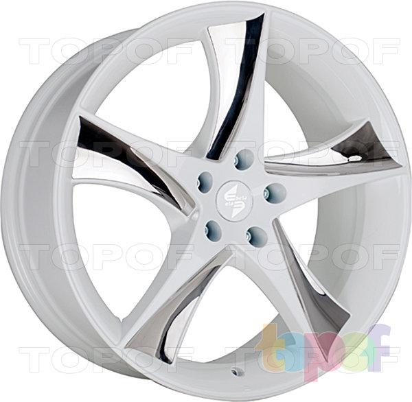 Колесные диски Eta Beta Jofiel. Цвет - белый керамический с серебристыми вставками