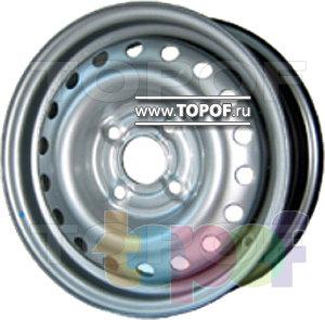Колесные диски EuroDisk (ФМЗ) 64C37D. Изображение модели #1