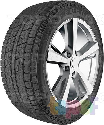 Шины Federal Himalaya ICEO. Зимняя нешипуемая шина для легкового автомобиля