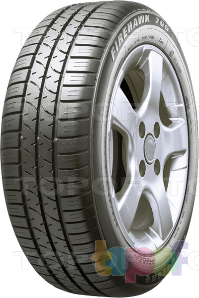 Шины Firestone Firehawk F700 Fuel Saver. Изображение модели #1