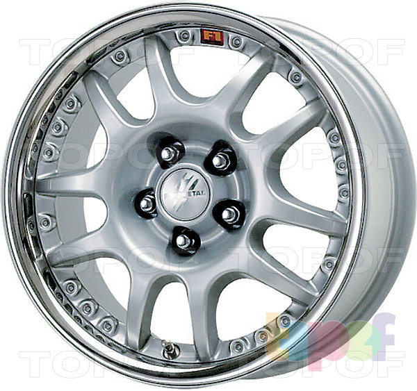 Колесные диски Fondmetal 6600. Изображение модели #1