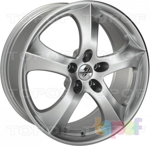 Колесные диски Fondmetal 9GR. Shiny Silver