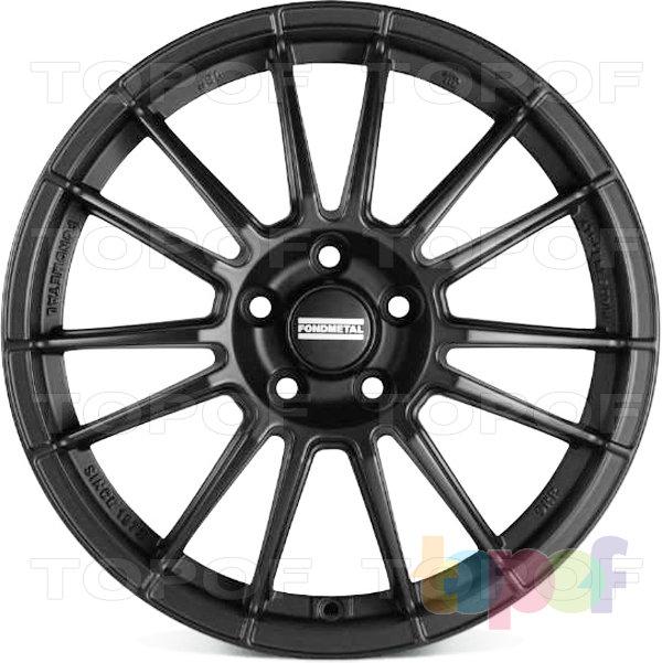 Колесные диски Fondmetal 9RR. Матовый черный