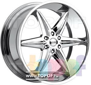 Колесные диски Foose F6. Изображение модели #1