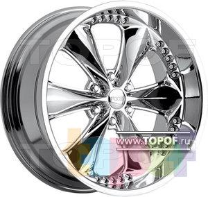 Колесные диски Foose Nitrous 6. Изображение модели #1