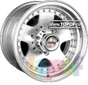 Колесные диски Forsage P0110A. Изображение модели #1
