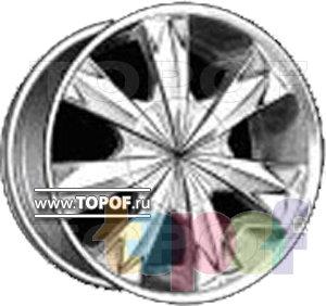 Колесные диски Forsage P0331. Изображение модели #1
