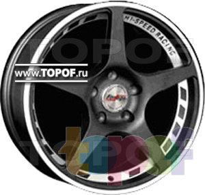 Колесные диски Forsage P0628. Изображение модели #1