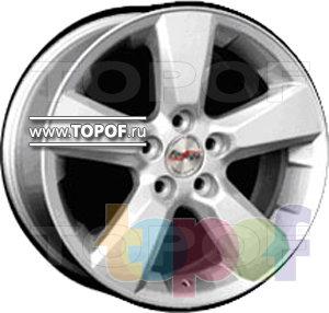 Колесные диски Forsage P0649. Изображение модели #1