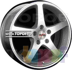 Колесные диски Forsage P0665. Изображение модели #1