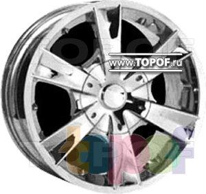 Колесные диски Forsage P0837. Изображение модели #1