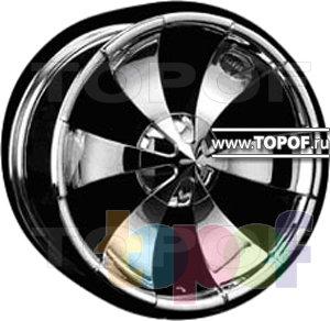 Колесные диски Forsage P0849. Изображение модели #1