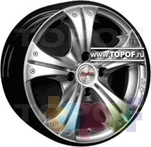 Колесные диски Forsage P1026. Изображение модели #1