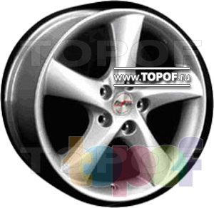 Колесные диски Forsage P1044. Изображение модели #1