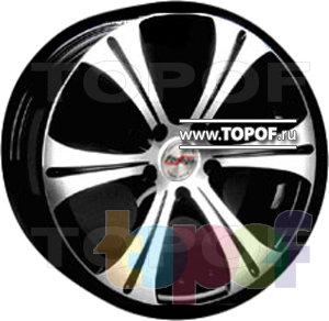 Колесные диски Forsage P1048. Изображение модели #1