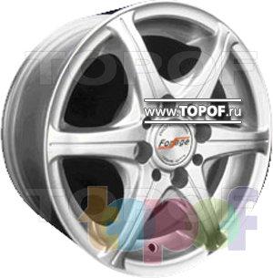 Колесные диски Forsage P1052. Изображение модели #1