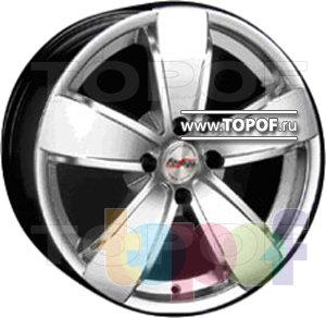 Колесные диски Forsage P1060. Изображение модели #1
