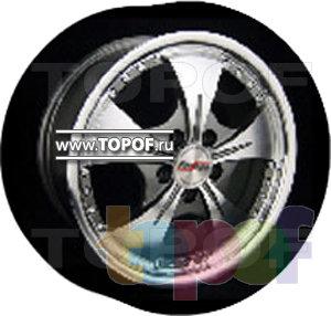 Колесные диски Forsage P1063. Изображение модели #1